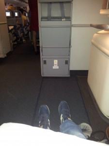 Beinfreiheit bei Air China