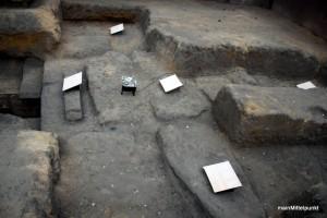 Ausmaß der Grabkammer