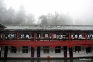 Kung-Fu Schule auf dem Berg